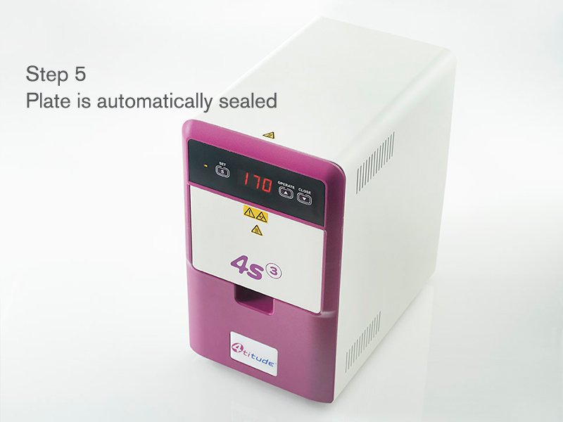 4ti-0655 | 4s3™ Semi-Automatic Sheet Heat Sealer | Operation: Step 5