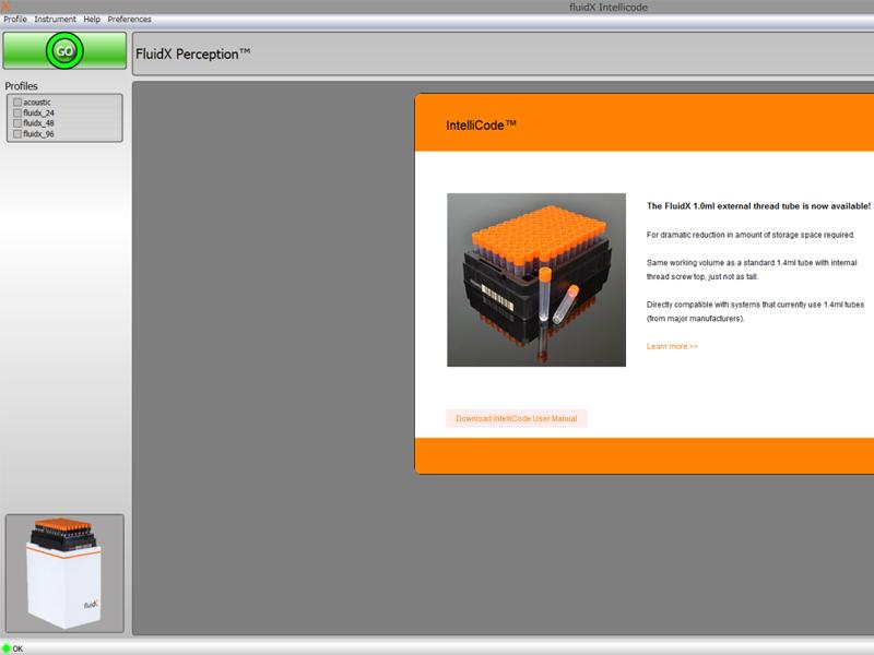 FluidX IntelliCode™ Decoding Software | Brooks Life Sciences