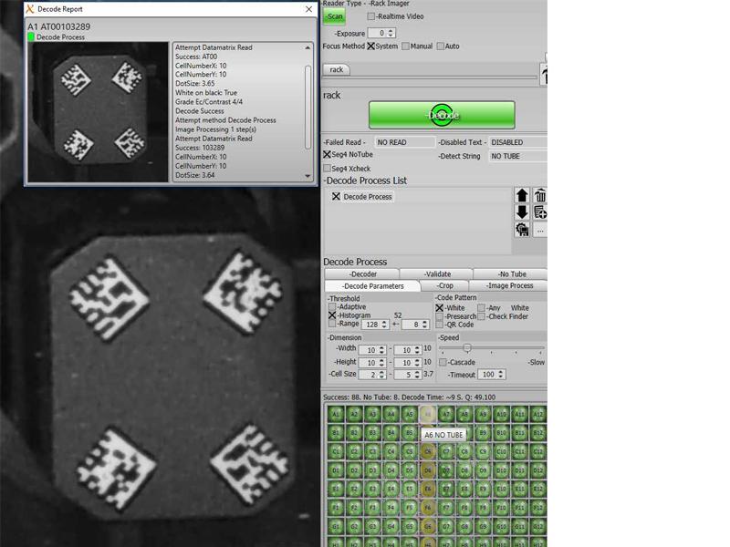FluidX Perception™ HD AcoustiX Whole Rack Reader | Brooks