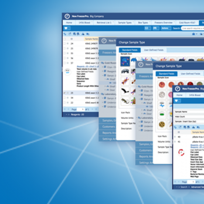 FreezerPro Clinical Sample Tracking Software